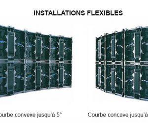 Murs led concaves ou convexes